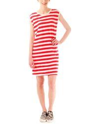 Edith A. Miller Boyfriend Sleeveless Mini Dress - Lyst