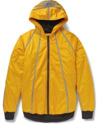 Christopher Raeburn Lightly-Quilted Primaloft® Hooded Jacket - Yellow
