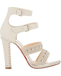 Christian Louboutin Studded Decodame Sandals - Lyst