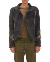 Isabel Marant Matellasé Tweed Greta Wrap Jacket - Lyst