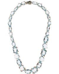 Alexis Bittar Fine - Silver Blue Quartz Set Necklace - Lyst