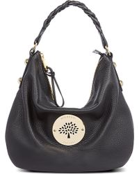 Mulberry Daria Medium Spongy Leather Hobo Bag - Lyst
