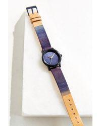 Nixon Kensington Leather Watch - Lyst