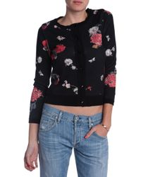 Alice + Olivia Floral Sweater - Lyst
