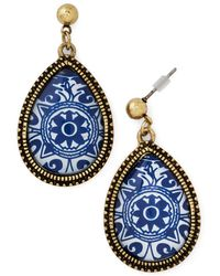 Zad Fashion Inc. Delft Of Possibilities Earrings - Lyst