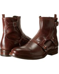 Alexander McQueen Gable 3 Buckle Boot W Red Sole - Lyst