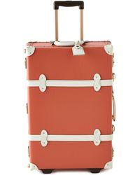 Neiman Marcus Orange Correspondent Carry-on Case