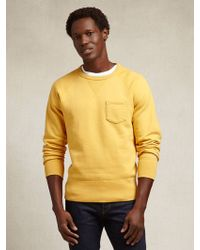Todd Snyder X Champion Fall Gold Crewneck Sweatshirt yellow - Lyst