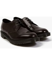 Dr. Martens | Merlot Boanil Brush Leather 1461 Shoes | Lyst