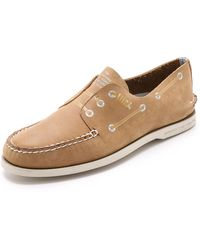 Band of Outsiders Sperry Top-Sider By A/O Screen Print Boat Shoes - Lyst