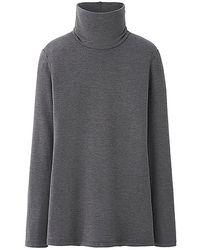 Uniqlo Heattech Extra Warm Polo Neck T-shirt - Lyst