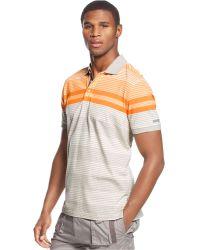 Sean John Short-Sleeve Multi-Striped Polo - Lyst