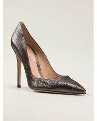 Gianvito Rossi Pointed Toe Pumps - Lyst