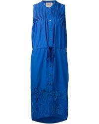 Sea French Knots Sleeveless Dress - Lyst