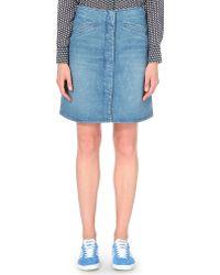 M.i.h Jeans Bodiam Denim Skirt - Blue