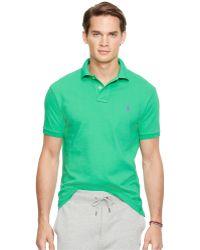 Polo Ralph Lauren | Slim-fit Mesh Polo Shirt | Lyst