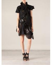 Junya Watanabe Patchwork Asymmetric Dress - Lyst