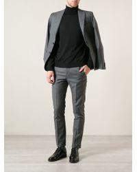 Calvin Klein Black Knit Sweater - Lyst