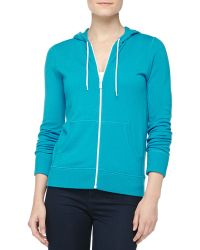 Michael Kors Hooded Cashmere Sweatshirt - Lyst