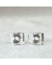 Ann Demeulemeester earrings - Lyst