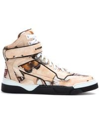 Givenchy Tyson High-top Leather Sneakers - Lyst