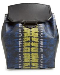 Alexander Wang Women'S 'Prisma' Lizard Embossed Backpack - Yellow - Lyst