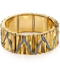House of Harlow 1960 - Muse Statement Bracelet - Lyst