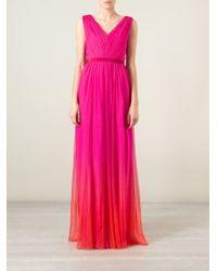 Matthew Williamson Empire Line Dress - Lyst