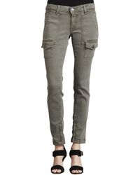 Joie So Real Skinny Fatigue Jeans - Lyst