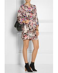 See By Chloé Silk Playsuit - Pink
