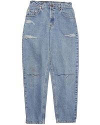 Denim Refinery - Vintage Levis The Double Slit Boyfriend Jeans - Lyst