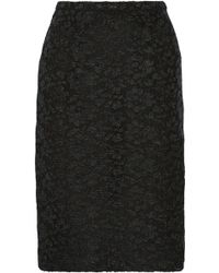 Burberry Prorsum Lace Pencil Skirt - Lyst