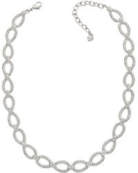 Swarovski Selma Crystal Necklace - Lyst