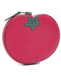 Hermes Preowned Leather Tomato Coin Pouch - Lyst
