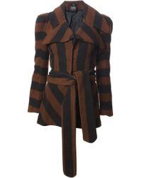 Biba Vintage Striped Jacket - Lyst