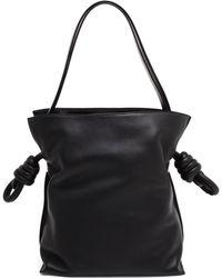 Loewe Leather Flamenco Bag - Lyst