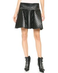 Jay Ahr A Line Miniskirt Black - Lyst