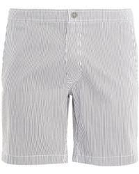 Onia Calder 75 Striped Swim Shorts - Lyst