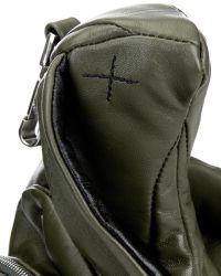 Christopher Raeburn - Hare Bi-Colour Leather Shoulder Bag - Lyst