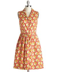 ModCloth Palette On Parade Dress - Lyst