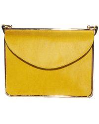 Carven - Daffodil Pony Hair Bag - Lyst
