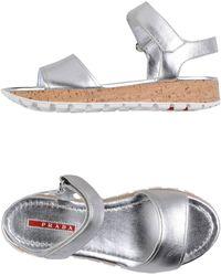 Prada Sport Sandals - Lyst