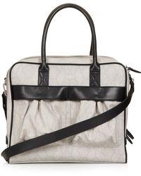 TOPSHOP - Snake Patch Pocket Luggage Bag - Lyst