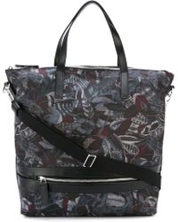Ferragamo | 'milo' Feather Print Tote | Lyst