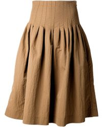 Brock Collection Pleated Skirt - Lyst