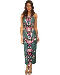Mara Hoffman Cutout Midi Dress - Lyst