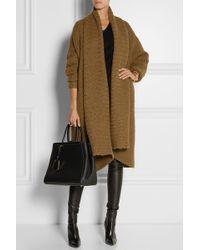 Donna Karan New York Oversized Alpaca Silk Cashmere and Woolblend Cardigan - Lyst