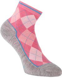 Smythson - Margate Argyle Ankle Socks - Lyst