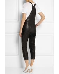 Each x Other - Washed Leather Jumpsuit - Lyst