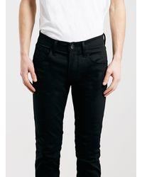 Topman Selected Homme Black Skinny Fit Jeans - Lyst